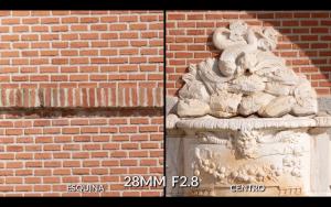 prueba nitidez 28mm 2.8