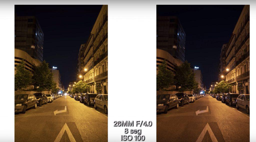eliminar la contaminacion luminica fotografia