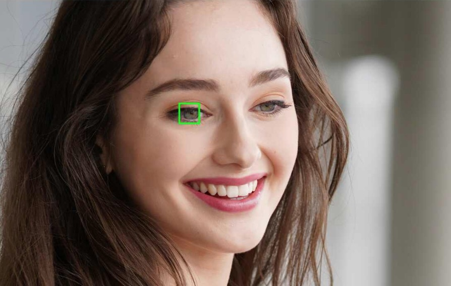 enfoque al ojo camara sony