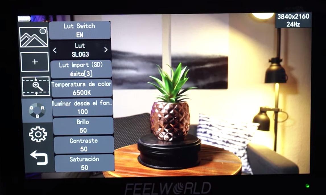 como utilizar monitor campo feelworld f6 plus